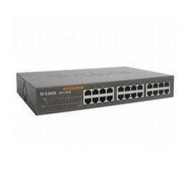 D-Link Swith DGS-1024D 24-Port 10/100/1000 Rackmountable Switch 48Gbps