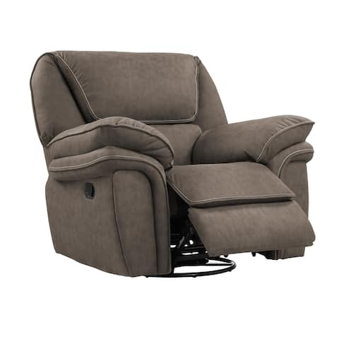 Copper Grove Asau Swivel Reclining Glider
