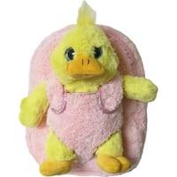 Kreative Kids Girls Yellow Duck Plush Backpack - One size