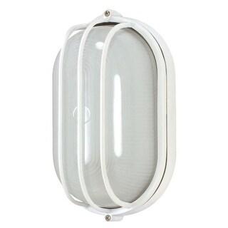 Nuvo Lighting 60/568 Single Light Oval Ambient Lighting Outdoor Bulk Head