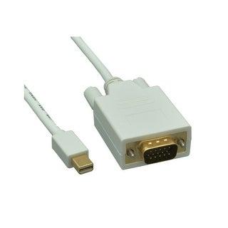 Offex Mini DisplayPort to VGA Video Cable, Mini DisplayPort Male to VGA Male, 3 foot