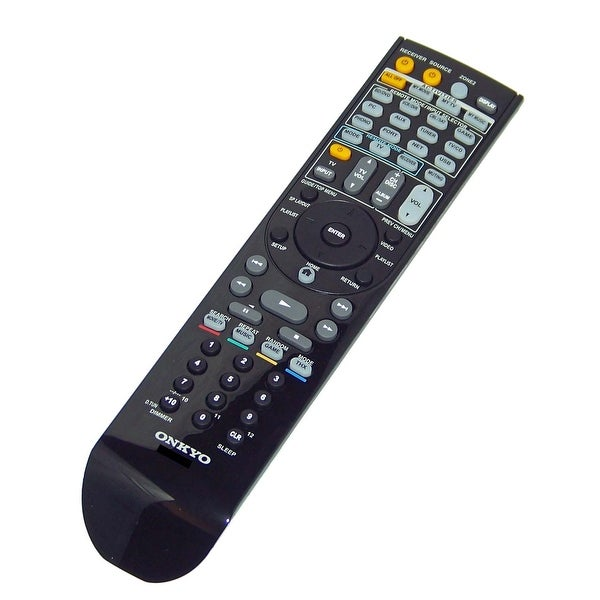 OEM Onkyo Remote Control Originally Shipped With: HTRC370, HT-RC370, TXNR709, TX-NR709