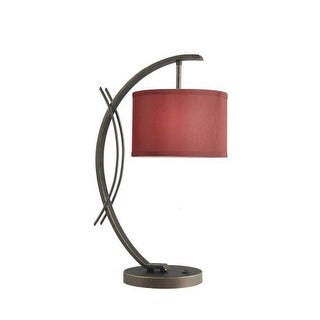 Woodbridge Lighting 13481MEB-S10803 1 Light Table Lamp from the Eclipse Collecti
