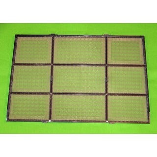 OEM Delonghi Air Conditioner Filter Originally Shipped With: PACAN130HPESWH3A, PACAN130ESDG3A