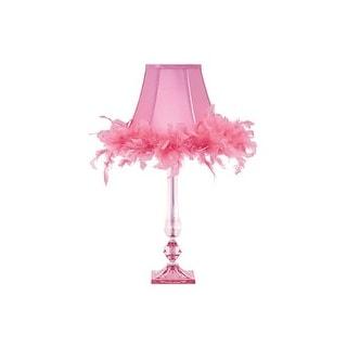 Auren Pink Acrylic Table Lamp L857604 Auren Pink Acrylic Table Lamp