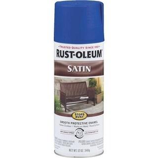 Rust-Oleum Sat Sapphire Spray Paint 276270 Unit: EACH