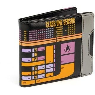 Star Trek: The Next Generation LCARS Men's Bifold Wallet - Multi