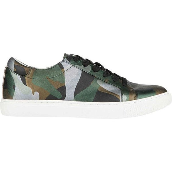 d0bc5abeb825 Shop Kenneth Cole New York Women s Kam Sneaker Green Multi Techni-Cole  Leather - On Sale - Free Shipping Today - Overstock - 19473671