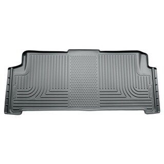 Husky Weatherbeater 2008-2016 Chrysler Town & Country Stow-N-Go 2nd Row Grey Rear Floor Mats/Liners