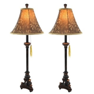 Aspire Home Accents 9989 Eleanor Buffet Lamp (Set of 2)