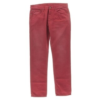 Polo Ralph Lauren Mens Varick Straight Leg Jeans 5-Pocket Slim - 33/32