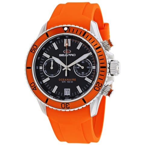 Seapro Men's Thrash Black Dial Watch - SP0331