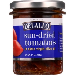Delallo Sun-Dried Tomatoes In Extra Virgin Olive Oil Pesto, 6.7 Oz (Pack Of 6)