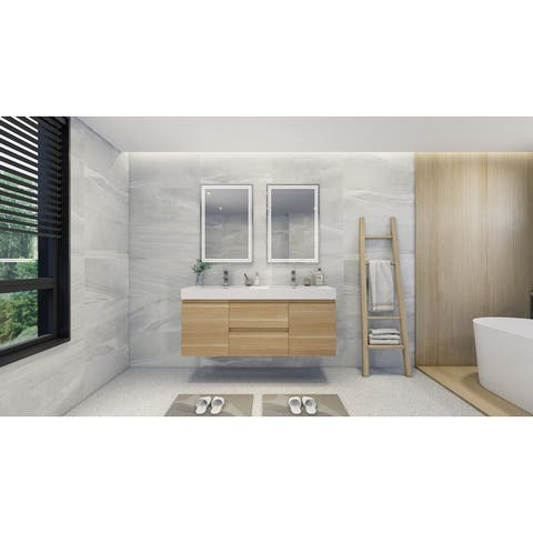 Baillie Wall-Mounted Vanity with Reinforced Acrylic Sink