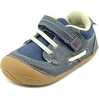 Stride Rite SRT SM Dawson Youth Round Toe Synthetic Blue Sneakers