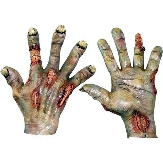 Rotted Hands Horror Zombie Costume Accessory