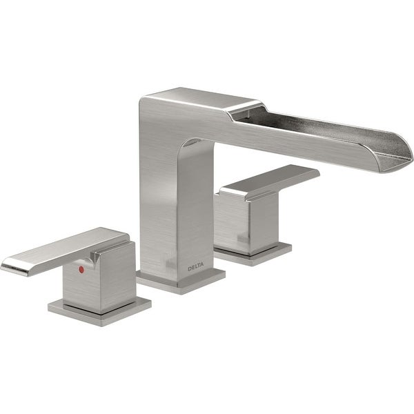 Shop Delta T2768 Ara Waterfall Deck Mounted Roman Tub Faucet Trim