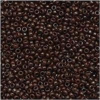 Toho Round Seed Beads 15/0 46 'Opaque Oxblood' 8 Gram Tube
