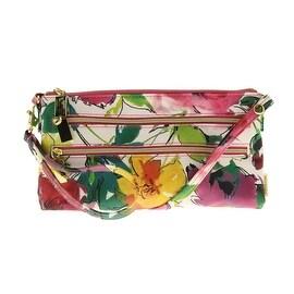 Stella & Max Womens Floral Print Convertible Crossbody Handbag - SMALL