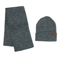 ClimaZer0 Marbled Hat and Scarf Winter Set - One size