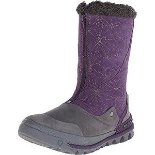 Merrell Womens Silversun Suede Mid-Calf Winter Boots