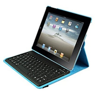 Ergoguys 2C-RTCK03-BL Duo-View iPad Case with Detachable Bluetooth Keyboard - Blue
