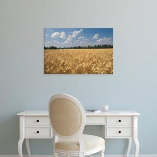 Easy Art Prints Adam Jones's 'Wheat Crop' Premium Canvas Art