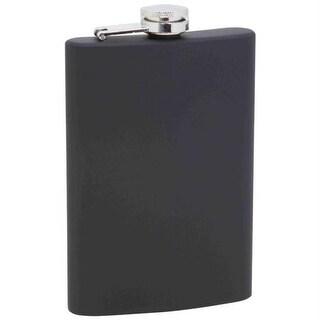 Maxam 8oz Stainless Steel Flask- Blk