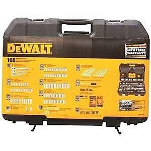 Stanley Tools 7515026 DWMT73803 0.25-0.37 -0.5 Drive Socket Set, 168 Piece