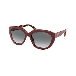 Link to Prada PR 16XSF UAN3M1 59 Red Woman Irregular Sunglasses Similar Items in Women's Sunglasses
