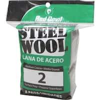 Red Devil 8Pk #2 Steel Wool 0325 Unit: PKG