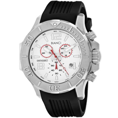 Roberto Bianci Men's Aulia Silver Dial Watch - RB55051 - One Size
