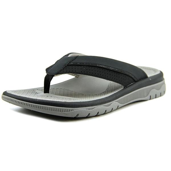 Clarks Narrative Balta Sun Men Open Toe Synthetic Black Thong Sandal