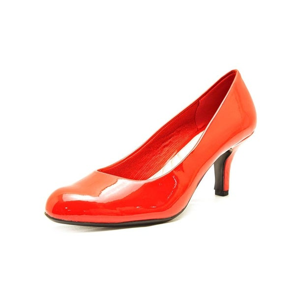 Easy Street Passion Red Pumps