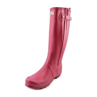 Hunter Original Slim Zip Women Round Toe Synthetic Rain Boot