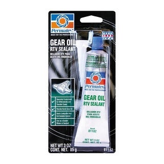 Permatex 81182 Gear Oil RTV Gasket Maker, 3 Oz