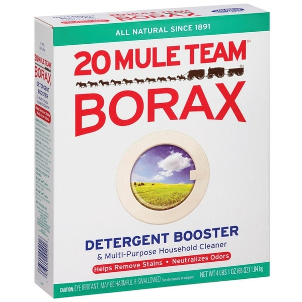 20 Mule Team Borax 00201 Laundry Detergent And Booster, 65 Oz