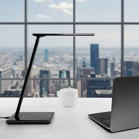 Dimmable USB LED Desk Lamp, 4 Lighting Modes, 1 & 2 Hour Auto Timer
