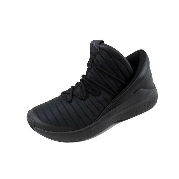 fe660f05c2841 Nike Grade-School Air Jordan Flight Luxe BG Black Anthracite-Black 919716-