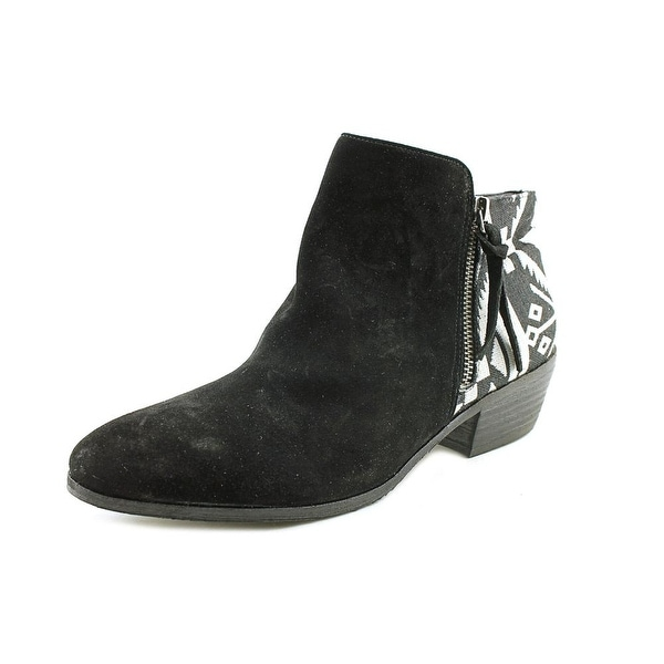 Yellow Box Acacia Womens Black White Boots