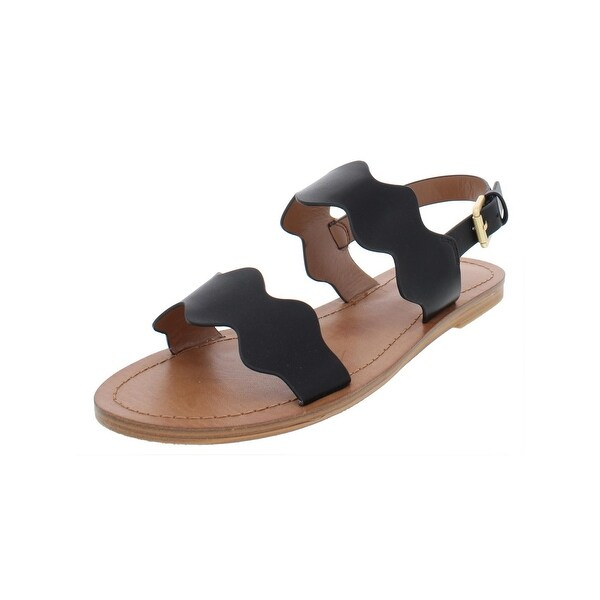 ab813ebe4 Shop Indigo Rd. Womens She Flat Sandals Faux Leather - Free Shipping ...