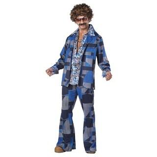 Mens 70's Boogie Nights Halloween Costume