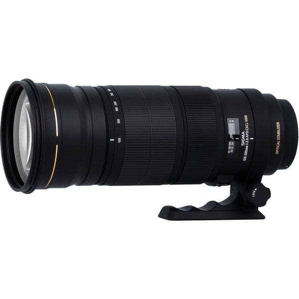 Sigma 120-300mm f/2.8 EX DG OS APO HSM AF Lens (For Canon) - Black