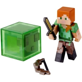 "Minecraft 3"" Action Figure: Alex with Accessories"