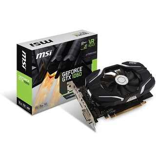 Msi Gaming Geforce Gtx 1060 3Gb Gddr5 Directx 12 Vr Ready (Geforce Gtx 1060 3G Ocv1)