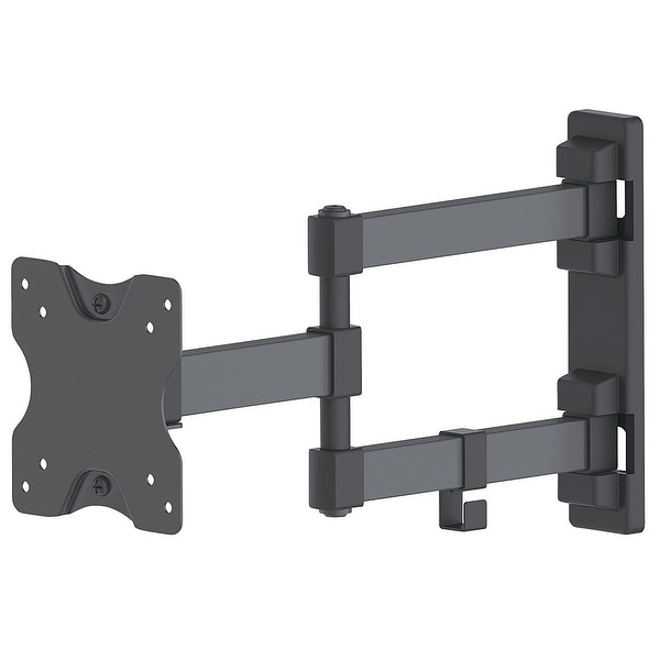 Manhattan - Strategic - Universal Flat-Panel Tv Articulating Mount, Double Arm Supports One 13 To 27 Tv