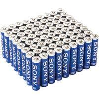 Sony S3A-72Bulk Stamina(R) Plus Alkaline Bulk Batteries (Aaa; 72 Pk)