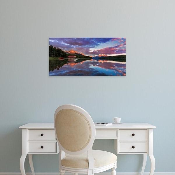 Easy Art Prints Yiming Hu's 'Jasper National Park I' Premium Canvas Art