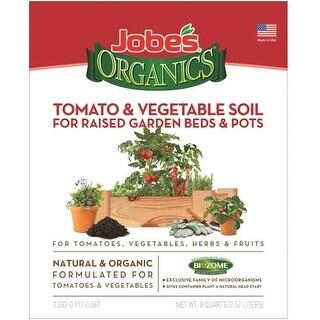Easy Gardener 08718 Jobes Tomato & Vegetable Soil, 8 Qt