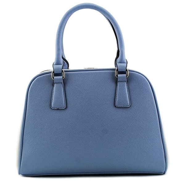 MG Collection H0713 Women   Synthetic  Satchel - Blue